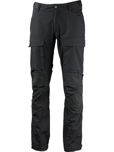Lundhags Authentic II - Pantalones de Trekking Hombre - Short/Wide gris